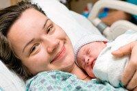 фото мамы и грудного малыша